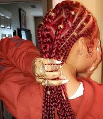 red cornrow braided hair 31 cornrow styles to copy for summer cornrow summer and cornrows