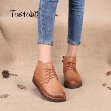 quality s boots aliexpress com buy tastabo genuine leather ankle boots high