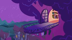 Twilight Sparkle Bedroom Twilight U0027s Balcony At Night Background By Tamalesyatole On