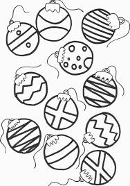 christmas ornaments coloring pages snapsite