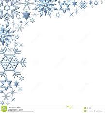christmas snowflake border clipart 25