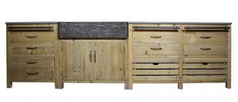 table en bois de cuisine meuble cuisine en bois brut meubles de homewreckr co