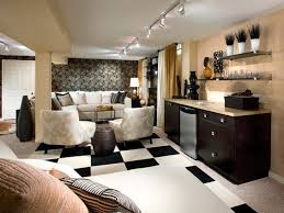 Small Basement Ideas On A Budget Affordable Basement Finishing Ideas Finished Media Room Designs