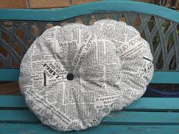 Round Outdoor Bistro Chair Cushions by Newsprint Fabric Pair Of Bistro Chair Cushions Bistro Set Round
