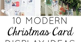 modern christmas cards 10 modern ways to display your christmas cards design improvised