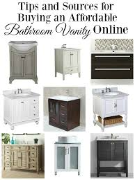 Bathroom Cabinet Online by Tips For Buying A Bathroom Vanity Online
