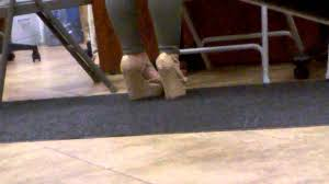 Laminate Floor Wedges Teacher Wedge Heels 6 Youtube