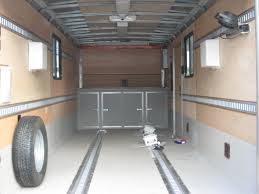 enclosed trailer exterior lights trailers