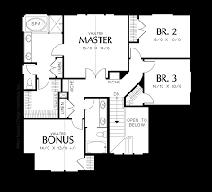 Kennedy Center Floor Plan by Mascord House Plan 22126 The Creston