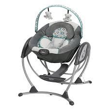 Amazon Baby Swing Chair Amazon Com Graco Glider Lx Gliding Swing Affinia Baby