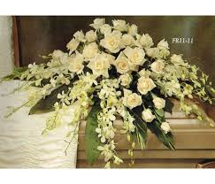 casket spray traditional floral remembrance fr11 11 casket spray