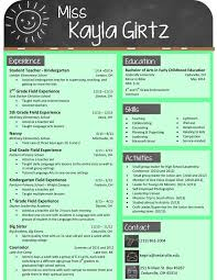 Beautiful Resume Templates Free Teacher Resume Templates Free Gfyork Com