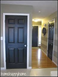 Interior Doors For Small Spaces Home Happy Home Black Painted Interior Doors My Is At