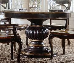 Luxury Dining - round pedestal kitchen table sets luxury dining room wood pedestal