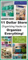 60 best dollar store organizing tips decor u0026 hacks images on