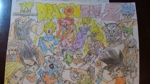 cool dragon ball drawings