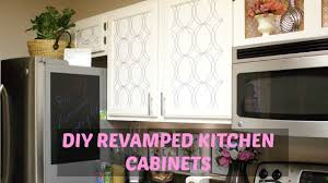 glam home diy kitchen cabinets youtube