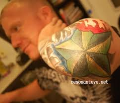 inner arm tattoos female paintful star tattoo design on elbow tattoomagz