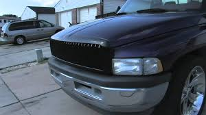 Dodge Ram Cummins Grill - 1994 dodge ram before and after paint youtube