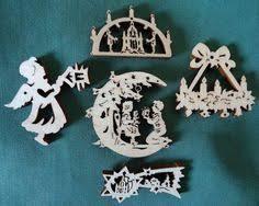 skiier on miniature erzgebirge german ornaments