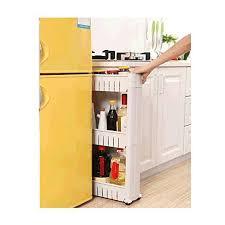 kitchen storage cupboard on wheels yontree gap storage slim slide out storage tower rack shelf
