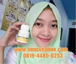 Pemutih Farma lengkap vitaline softgel tiens pemutih kulit wajah dan badan