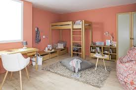 debe deluxe teenagers nursery with bunk beds and seating platforms