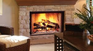 zero clearance wood burning fireplace high efficiency wood