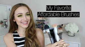 updated best drugstore affordable makeup brushes youtube