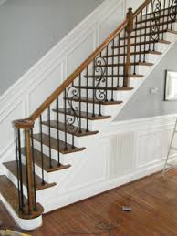 Replacement Stair Banisters Staircase Railing Charlotte Nc Staircase Spindle Replacement