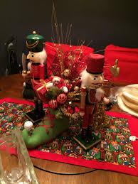 christmas nutcracker gold and red elf shoe centerpiece diy