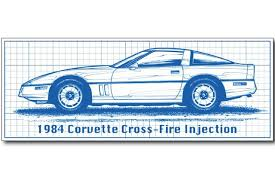 1982 corvette crossfire injection 1982 1984 cross fuel injection corvettes