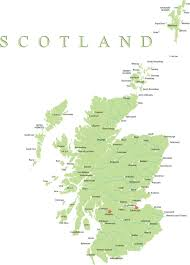 map of and scotland map of scotland scottish islands