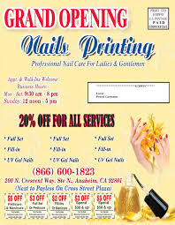 nails printing post card eddm 8 5 11 2 nails printing u2013 866