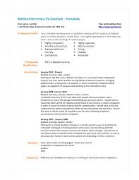 Legal Secretary Resume Samples by Cover Letter Medical Secretary Resume Sample Medical Office