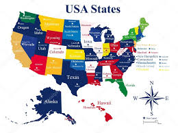 map showing states and capitals of usa us map with states and cities united states map showing states and