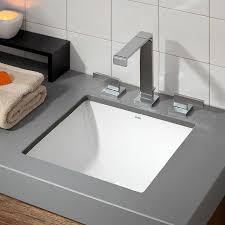 replace undermount bathroom sink cheviot 1179 wh square square drop in undermount basin lowe s canada