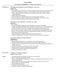 sle of resume corporate procurement resume sles velvet