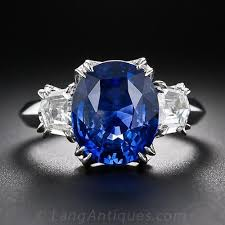 oval sapphire engagement rings 5 16 carat oval sapphire and ring