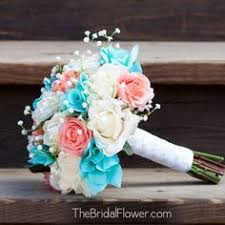 Tiffany Blue Flowers Pink And Tiffany Blue Wedding Flowers Accented With Stephanotis