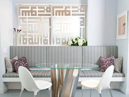 Living Room Dining Room Design by Make Space With Clever Room Dividers Hgtv