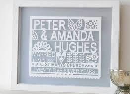 25th wedding anniversary gifts 14 25th wedding anniversary gift 25th anniversary gifts ideas for