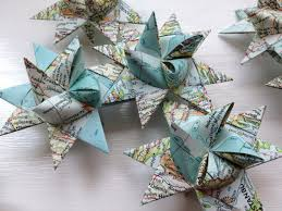 german paper origami ornament sculpture 3 by thestarcraft