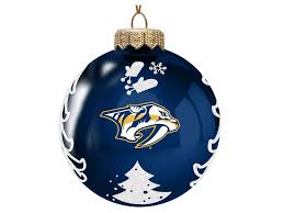 nashville predators memory company 3 glass tree