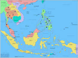 Map Of Asia With Cities by Map Of Asia For Of With Capitals Roundtripticket Me