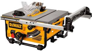 dewalt table saw review dewalt dwe7480 dwe7480xa review small but powerful table saw