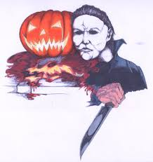 my michael myers halloween portrait