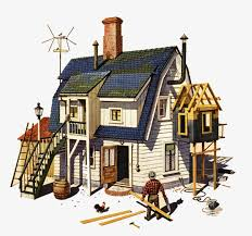 build a house free build a house building illustration cover floor building