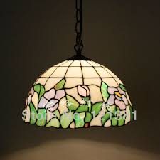 stained glass dining room light medium size tiffany style floral pendant l dinning room hanging