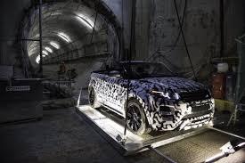 land rover daktari range rover evoque convertible confirmed for production photos
